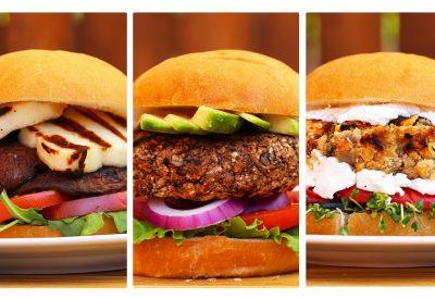3 Incredible Veggie Burger Recipes
