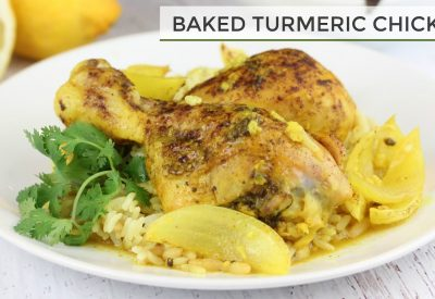 Baked Turmeric Chicken Recipe
