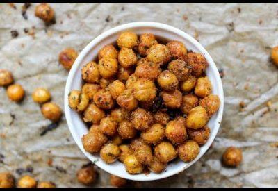 Roasted Peanuts and Chickpeas