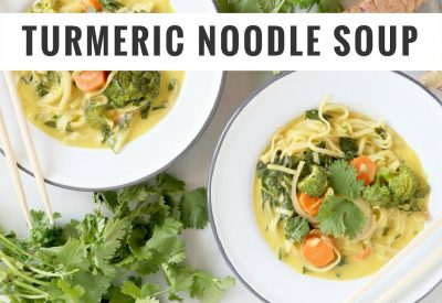 Gluten Free Turmeric Noodle Soup