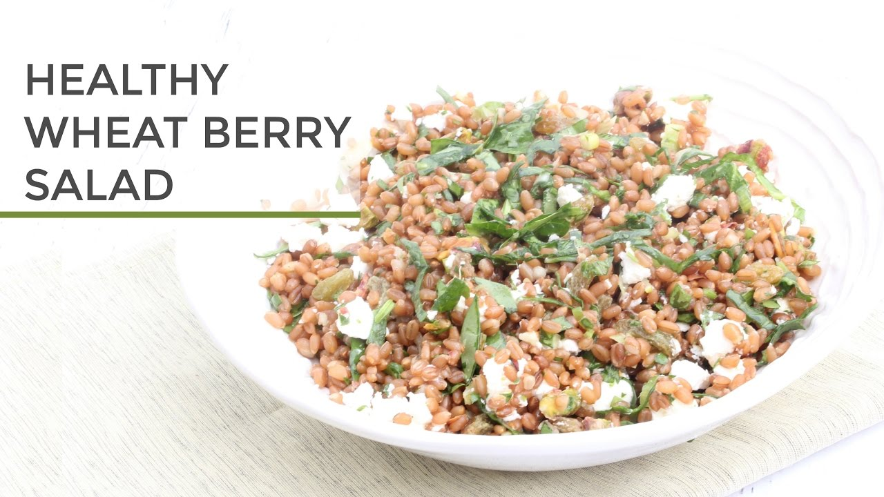 Healthy Wheat Berry Salad - Healthy Treats