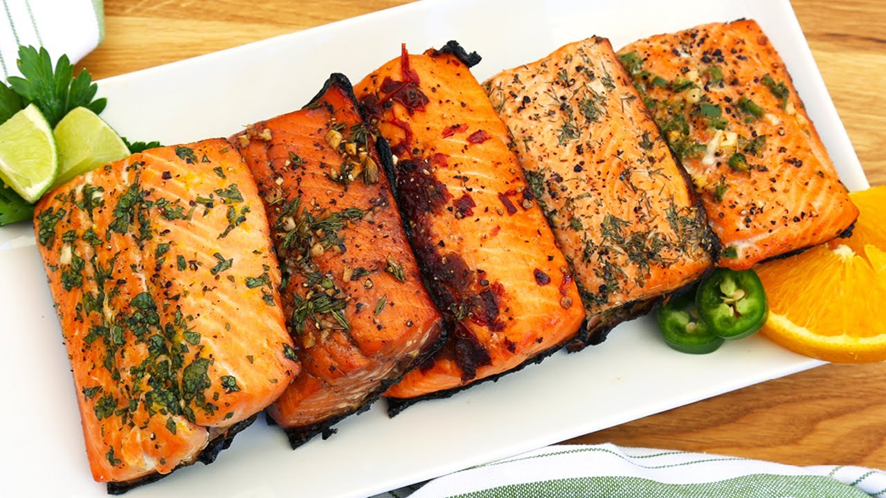 5 EASY Salmon Marinades