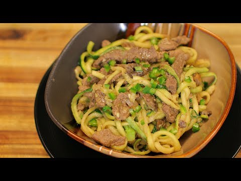 Keto Beef Chow Mein