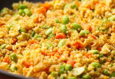Leftover Quinoa Fried Rice
