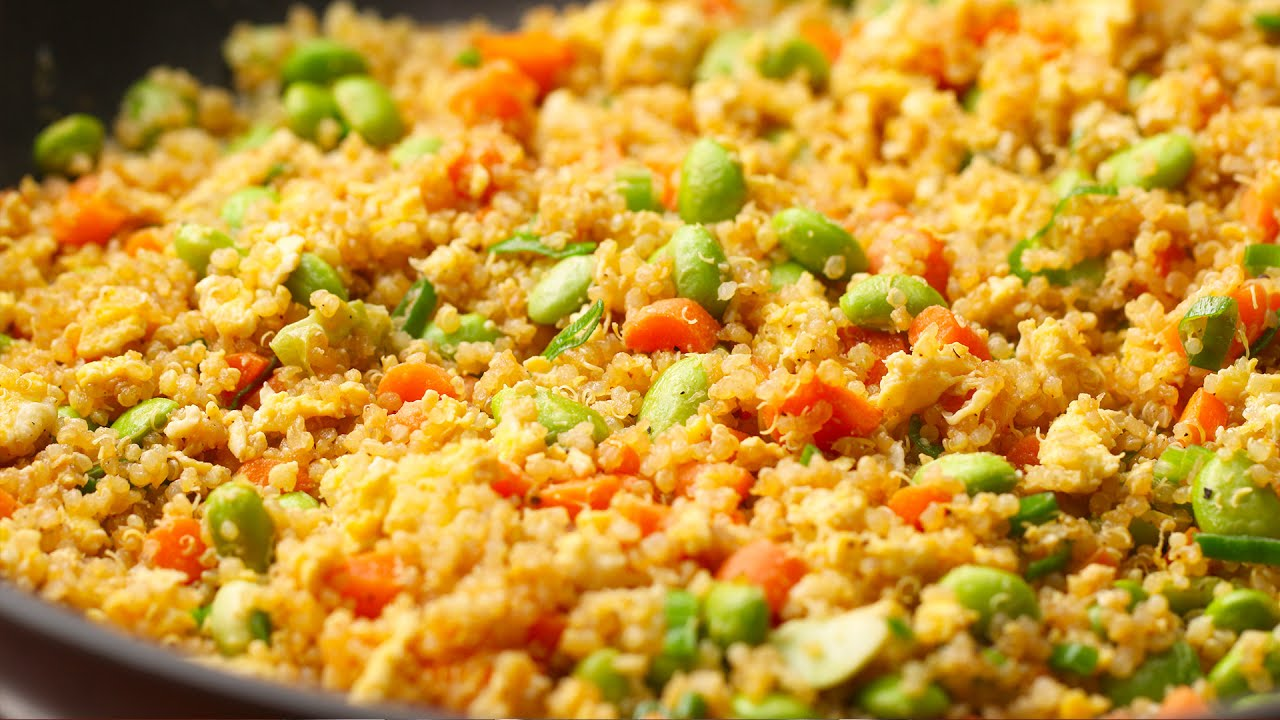 Leftover Quinoa Fried Rice
